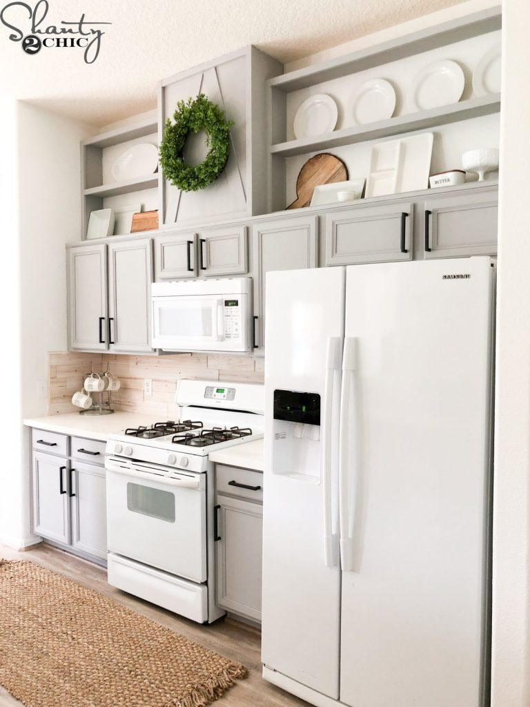 How to Make Cabinets Taller - Free Plans & Video Tutorial ...