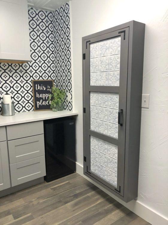DIY Utility Storage Cabinet