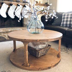 DIY-Round-Coffee-Table-Free-Plans