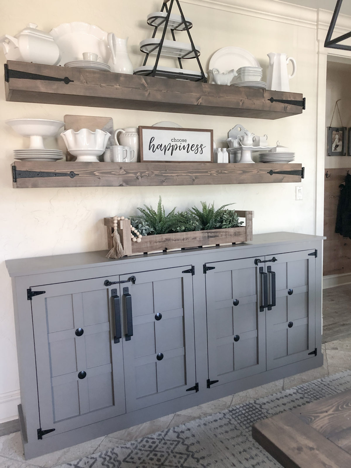 Diy Modern Farmhouse Cabinet Shanty 2 Chic