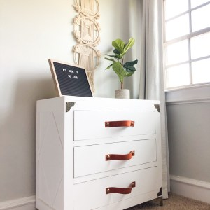 DIY RUSTIC GLAM DRESSER by Shanty2Chic