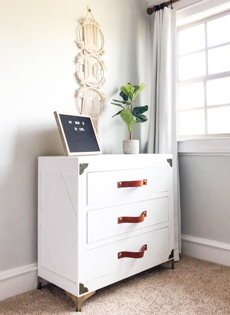 DIY Rustic Glam Dresser