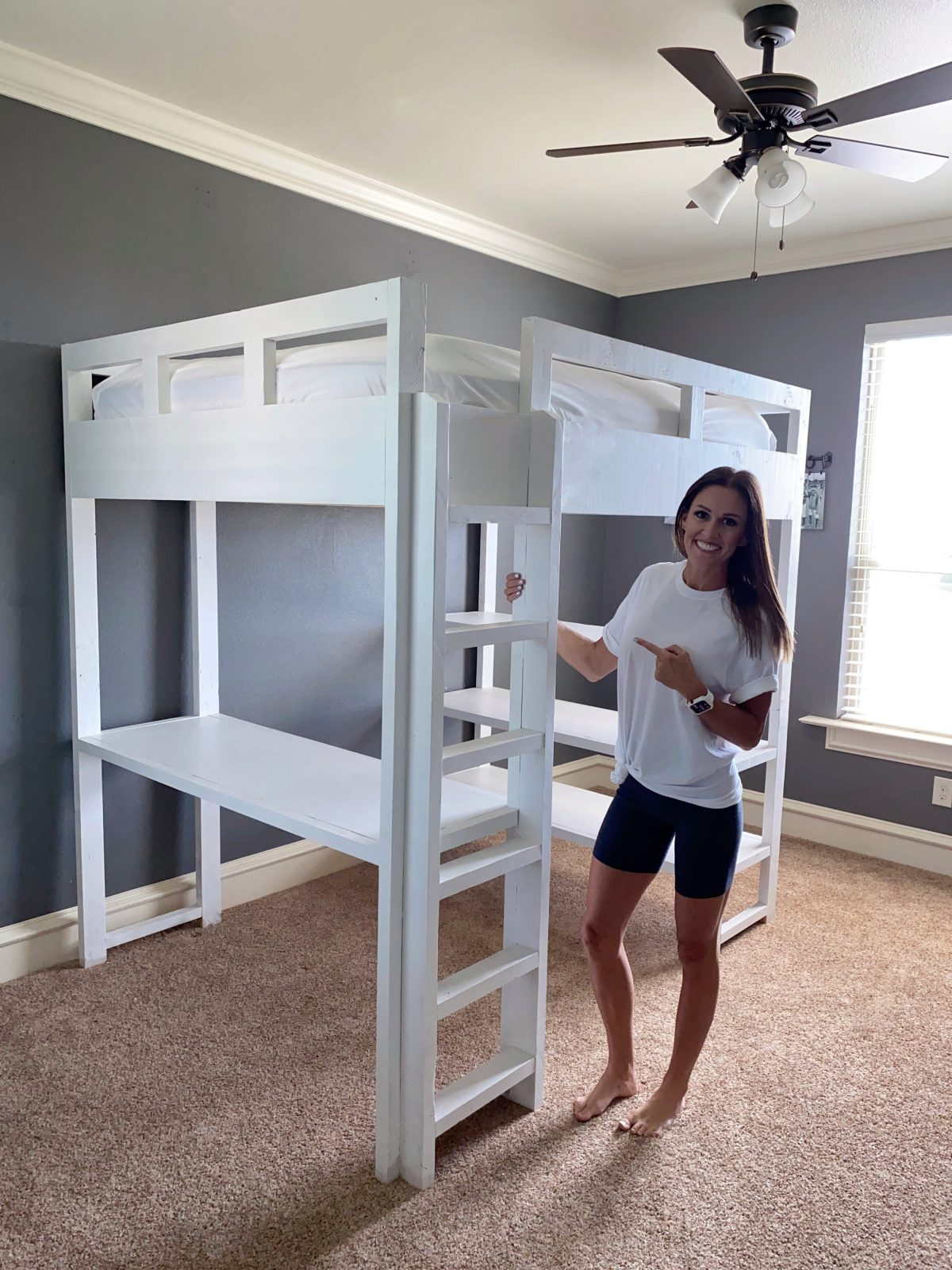 Picture of: Diy Loft Bed Shanty 2 Chic