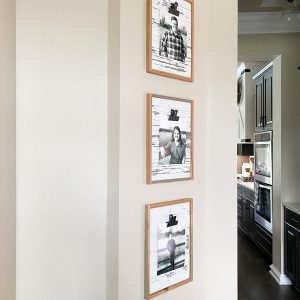DIY Barnwood Clip Frame
