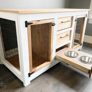 DIY-Dog-Crate-Console