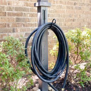 DIY Water Hose Post by Shanty2Chic