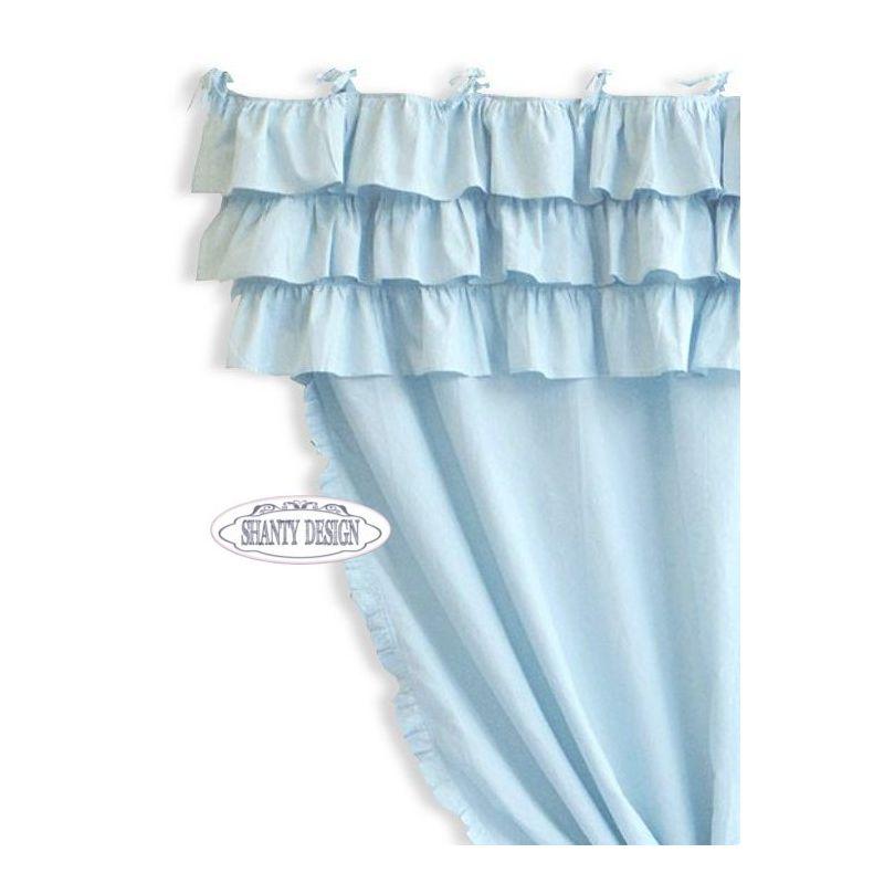 Le ultime tendenze sulle mantovane per tende da sole. Tenda Con Mantovana Vienna 5 Shabby Chic Tende
