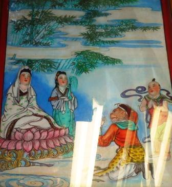 Guan Yin Bodhisattva and Monkey God