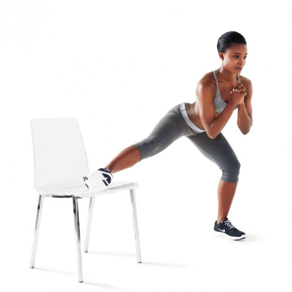 Strength Training Workouts: 8 Wall & Chair Exercises for ...