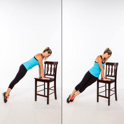 chair exercises for abs electric lift aldi workout stand up a flat stomach shape magazine incline hip twist