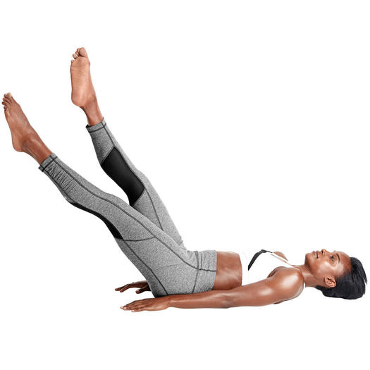 Pilates Moves for Sculpted Abs In Minutes  Shape Magazine