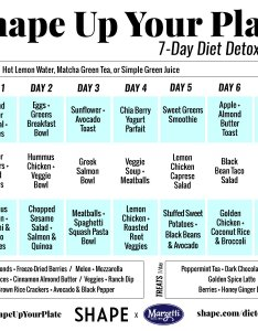 daycalendarg also the day shape up your plate challenge for easy healthy meal rh
