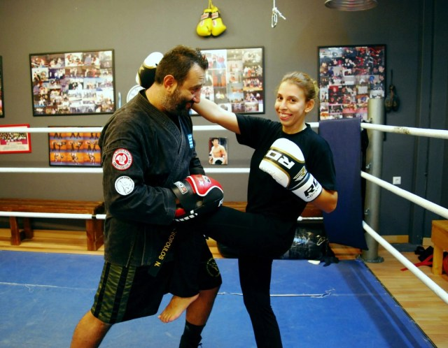kick boxing για γυναίκες