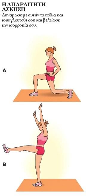 Το πρόγραμμα άσκησης που γίνεται πάντα και παντού (ναι, και το καλοκαίρι!)