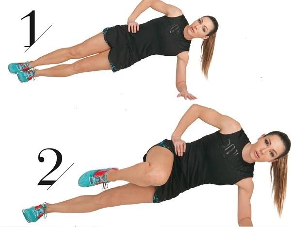 2 ασκήσεις της Ελένης Πετρουλάκη για λεπτή μέση και σφιχτούς κοιλιακούς
