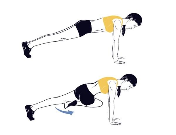 Η 15λεπτη προπόνηση του δρομέα για σφιχτό σώμα σε 4 απλές κινήσεις
