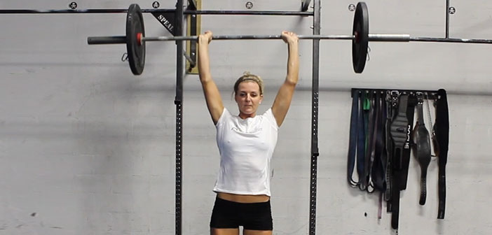 Push Press - CrossFit Exercise Guide with Photos and Instructions