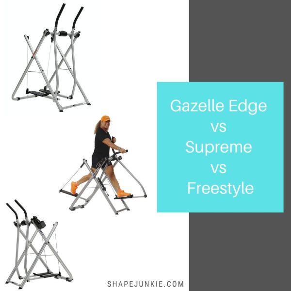 Gazelle Edge Supreme Freestyle Comparison Shape Junkie