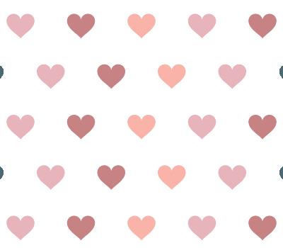 55 hearts photoshop vector