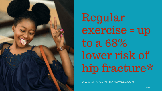 Statistics on hip fracture and exercise