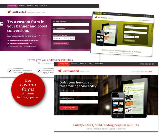 JustLanded - WordPress Landing Page 6