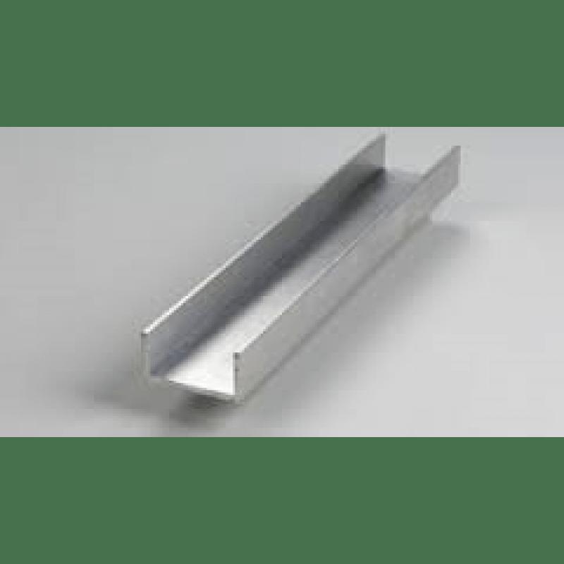 Alloy 6063 Aluminum Channel - 1 3/4