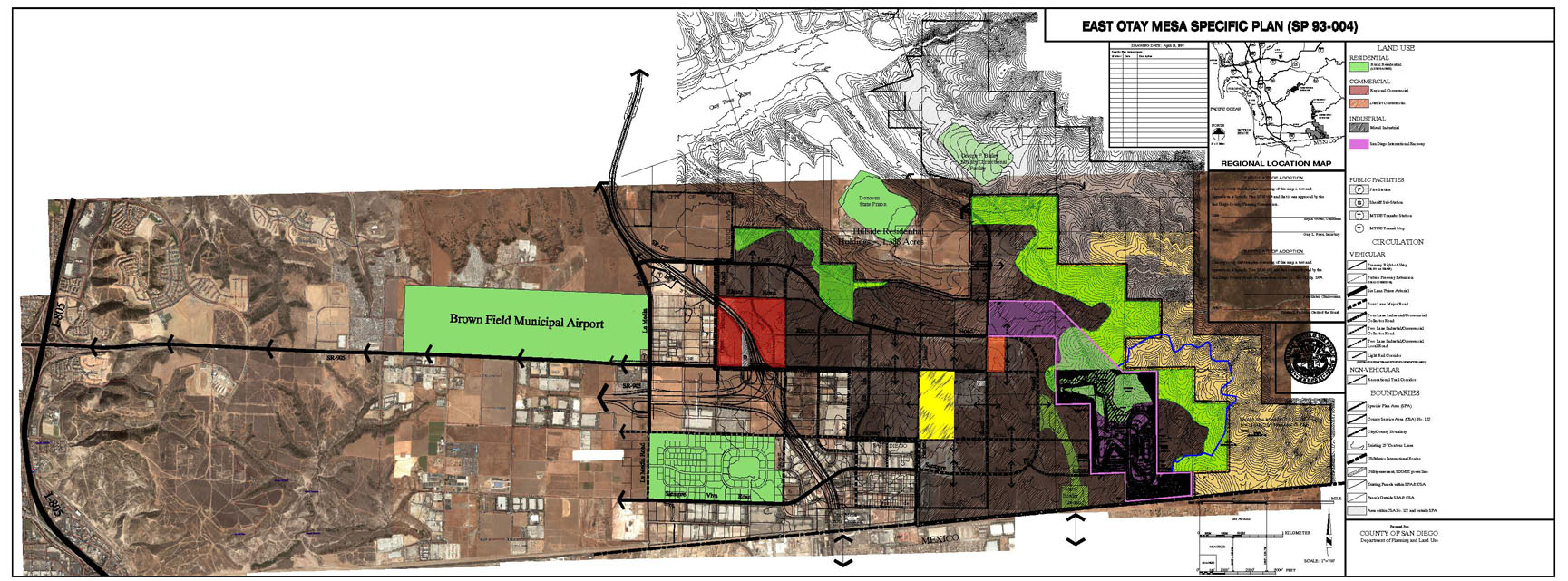 East Otay Mesa Specific Plan