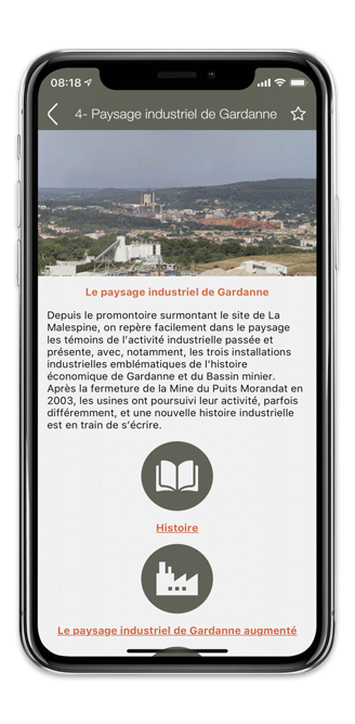Application mobile de Gardanne