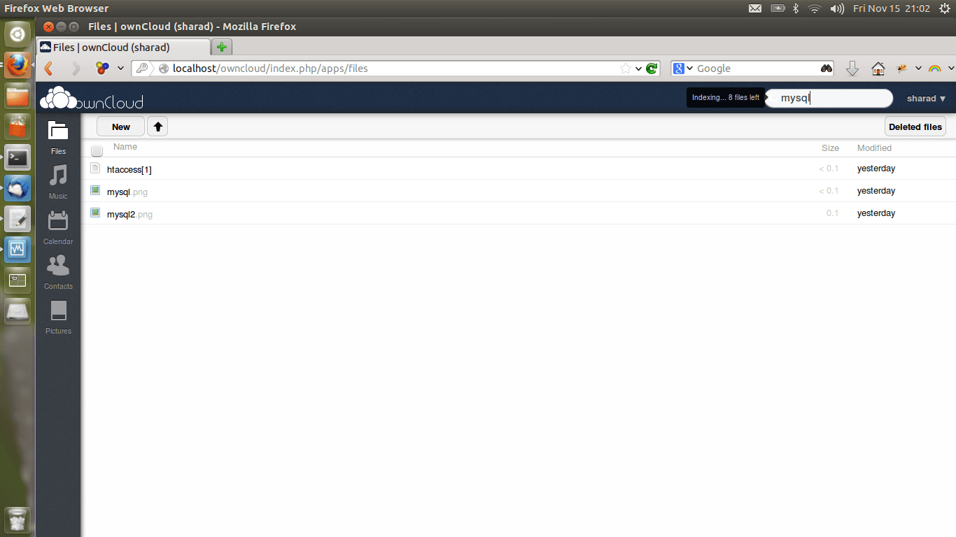 owncloud-indexing