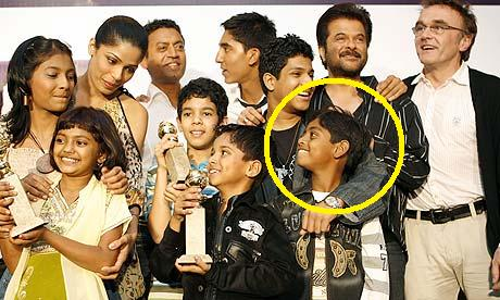Mohammed Ismail And Rest Of Crew of Slumdog Millionaire
