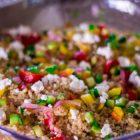 Goat Cheese Quinoa Salad