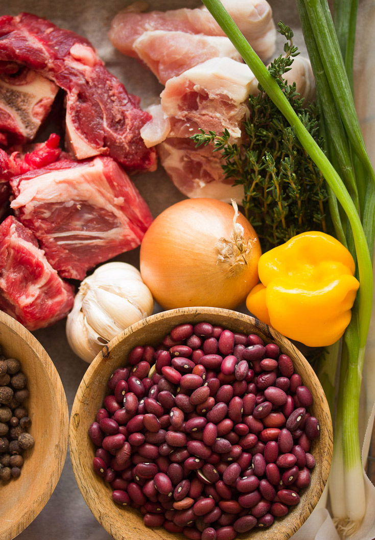 Stew Peas Ingredients