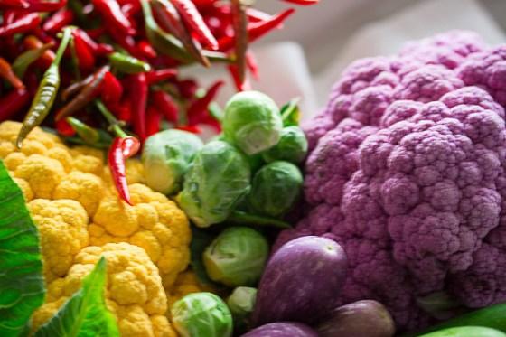 cauliflower and chilli