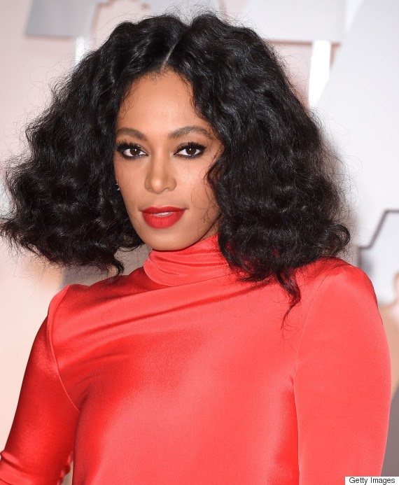 HOLLYWOOD, CA - FEBRUARY 22: Solange Knowles arrives at the 87th Annual Academy Awards at Hollywood & Highland Center on February 22, 2015 in Hollywood, California. (Photo by Steve Granitz/WireImage)
