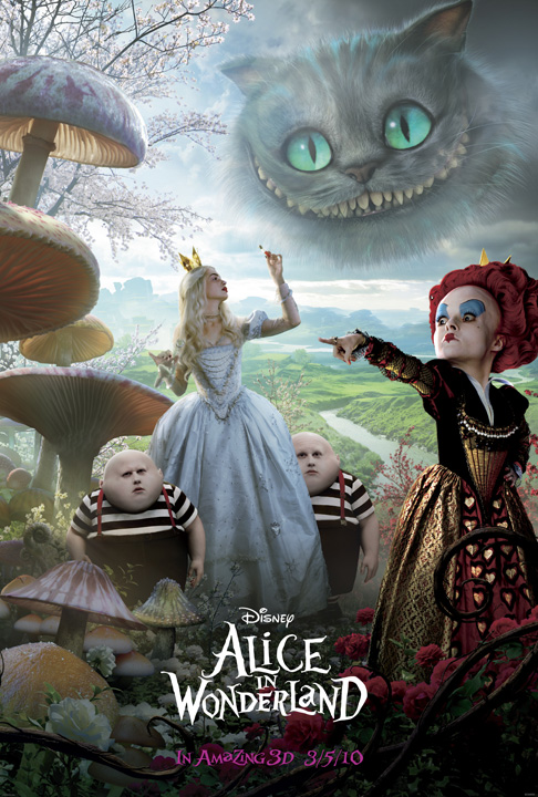 movie review alice in wonderland 2010