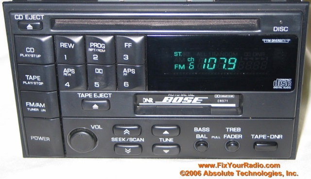 1996 civic radio wiring diagram leviton 3 way led dimmer switch repairs - including blank display (ford & nissan quest, chrysler)