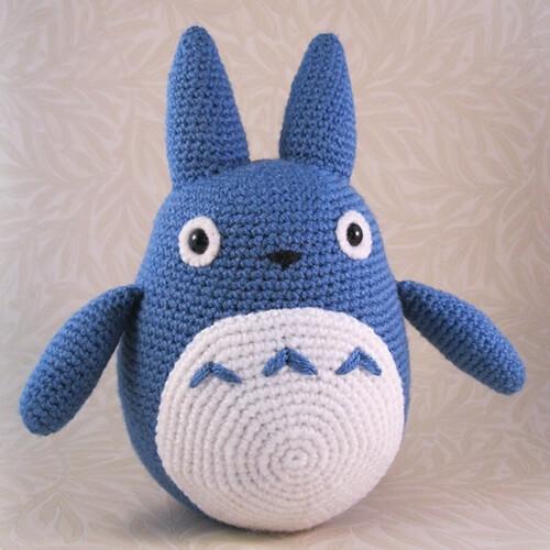 Amigurumi Totoro : Amazing kawaii totoro drawstring mini backpack u share a pattern