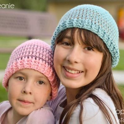 Crochet Striped Beanie