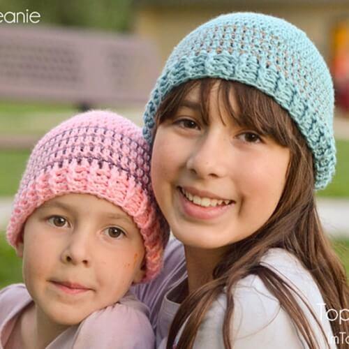 Crochet Striped Beanie