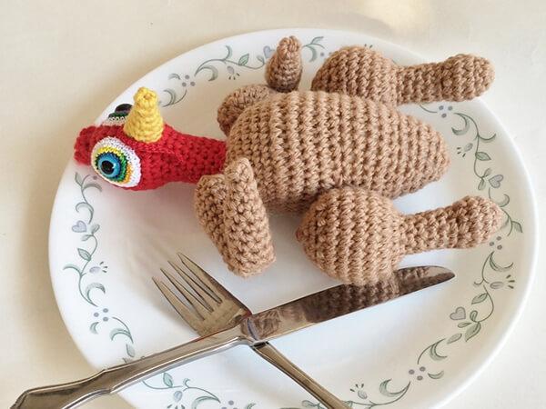 Roast Turkey Doll