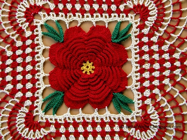 Country Christmas Doily