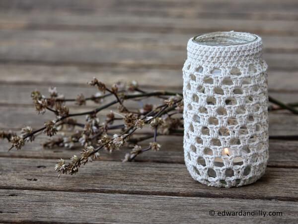 crochet jar pattern