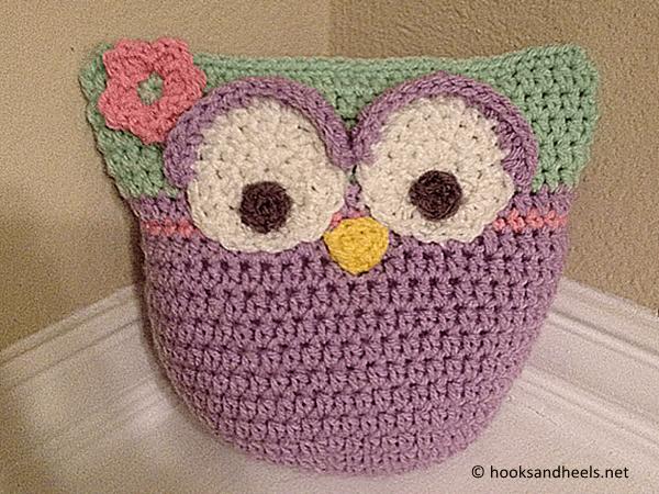 Owl Rattle Stuffie