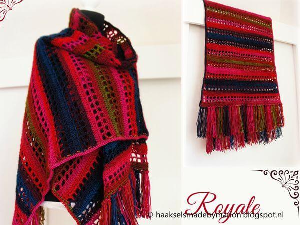 Royale Squares & Stripes wrap