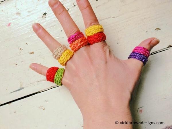 Little Crochet Rings