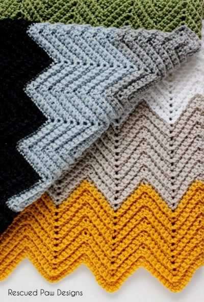 Free Chevron Crochet Pattern