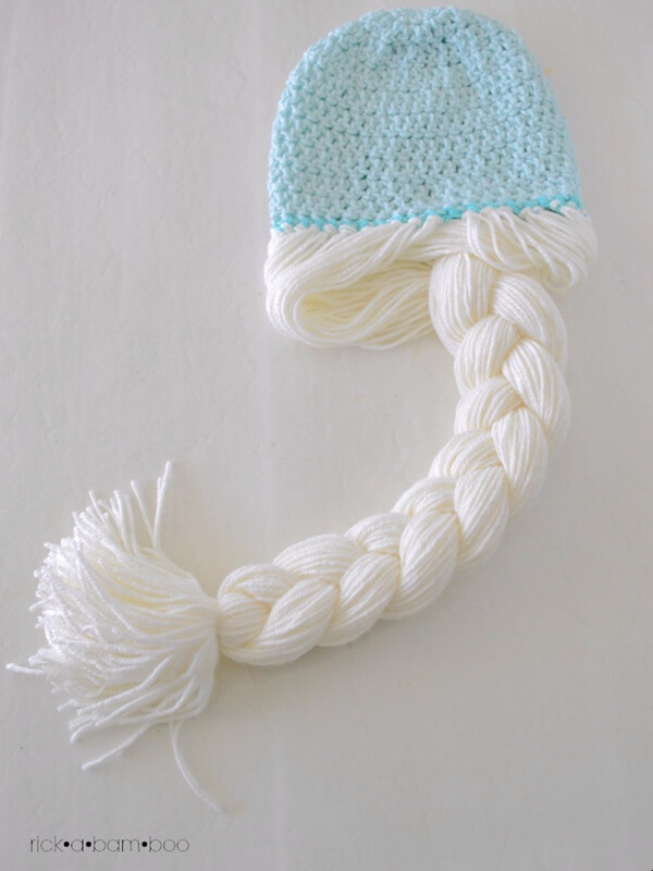 Anna Elsa Crochet Hats