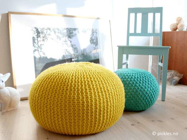 Puff Daddy Knitted Stool