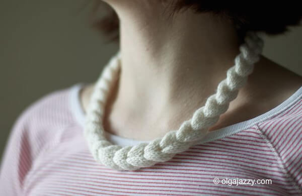 Cable Braided Necklace