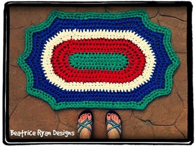 Retro Summertime Rug